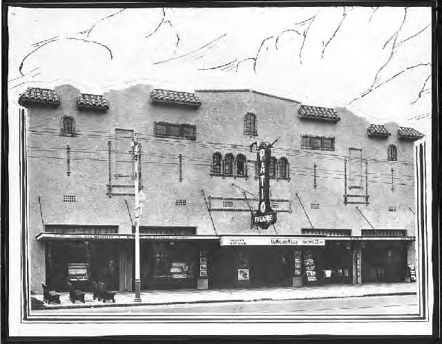 Front Facade Of Patio Theatre Building At 1850 Central Avenue: St.  Petersburg, Fla.